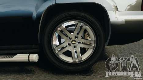 Chevrolet Tahoe LCPD SWAT для GTA 4 вид снизу