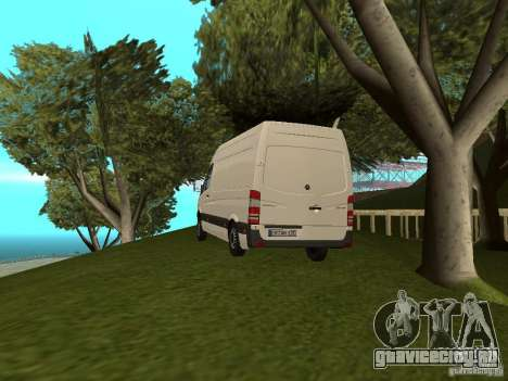 Mercedes Sprinter 311CDi beta для GTA San Andreas вид слева