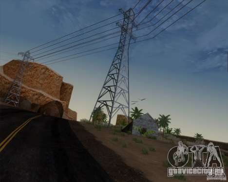 HQ Country N2 Desert для GTA San Andreas четвёртый скриншот