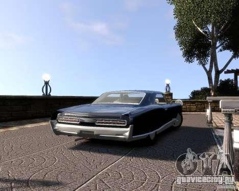 Pontiac Bonneville 1966 для GTA 4 вид справа