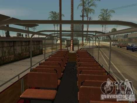 ЛиАЗ 677 Экскурсионный для GTA San Andreas вид сзади