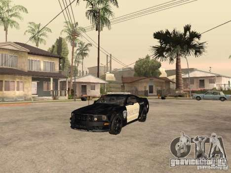 Saleen S281 2007 Barricade для GTA San Andreas