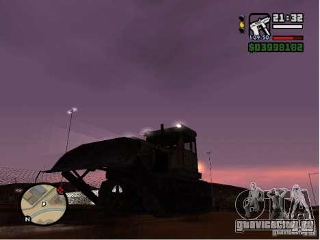 Bulldozer T 130 для GTA San Andreas
