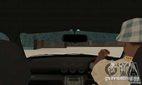 Nissan Silvia INGs +1 для GTA San Andreas вид справа