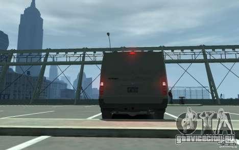 Ford Transit 2011 для GTA 4 вид справа