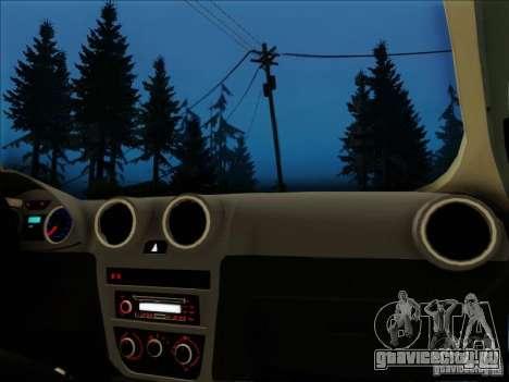 Volkswagen Saveiro 2014 для GTA San Andreas вид справа