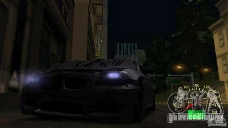 Спидометр ВАЗ 2110 для GTA San Andreas четвёртый скриншот