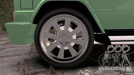 Mercedes-Benz G55 AMG для GTA 4 вид сверху