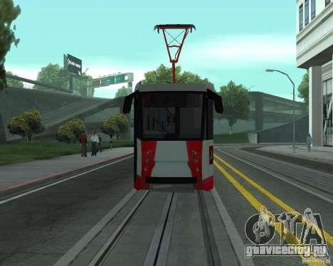 ЛМ-2008 для GTA San Andreas вид изнутри