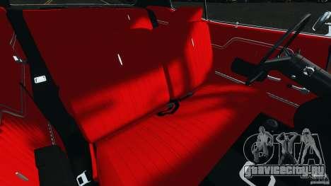Chevrolet Chevelle SS 1970 v1.0 для GTA 4 вид изнутри