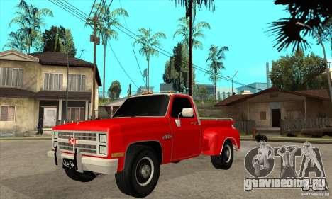 GMC 454 PICKUP для GTA San Andreas