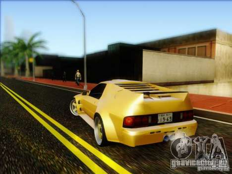 Diablo-Seven для GTA San Andreas вид слева