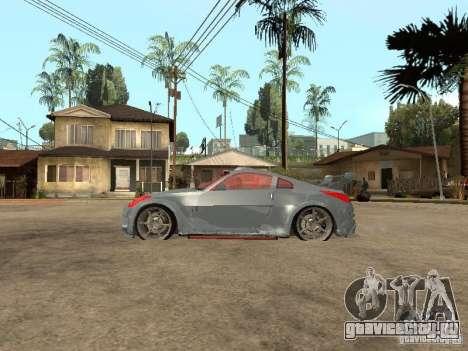 Nissan 350Z Virgo для GTA San Andreas вид слева