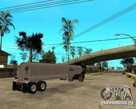 Rubber Duck Mack для GTA San Andreas вид сзади слева