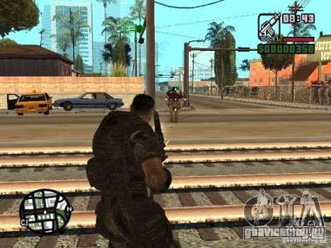 Доминик Сантьяго из игры Gears of War 2 для GTA San Andreas второй скриншот