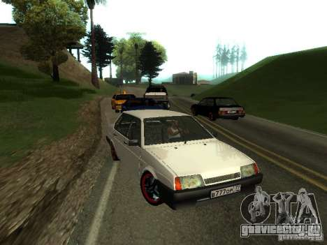 ВАЗ 21099 v.2 для GTA San Andreas