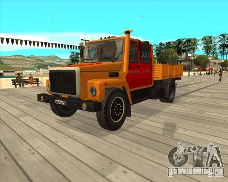 ГАЗ 3309 Аварийка для GTA San Andreas