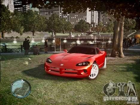 Dodge Viper SRT-10 2003 для GTA 4