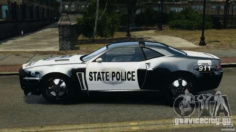 NFSOL State Police Car для GTA 4 вид слева