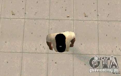Кепка newyorkyankiys черная для GTA San Andreas третий скриншот