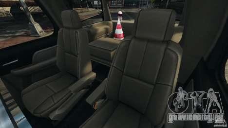 Chevrolet Tahoe LCPD SWAT для GTA 4 вид сбоку