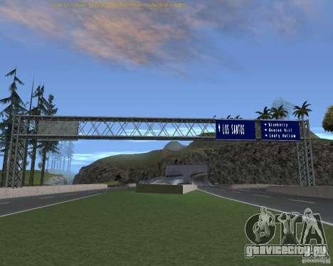 Дорожные указатели v1.1 для GTA San Andreas пятый скриншот