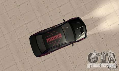 Mitsubishi Lancer Evo 8 Tuning для GTA San Andreas