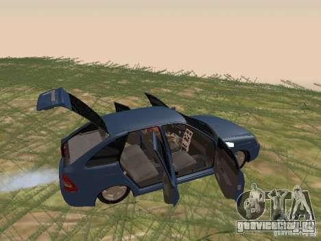 ВАЗ 2170 Хетчбэк для GTA San Andreas вид сзади