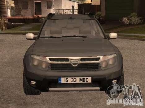 Dacia Duster для GTA San Andreas вид слева