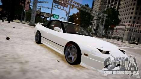Nissan 240SX Drift для GTA 4 вид сзади