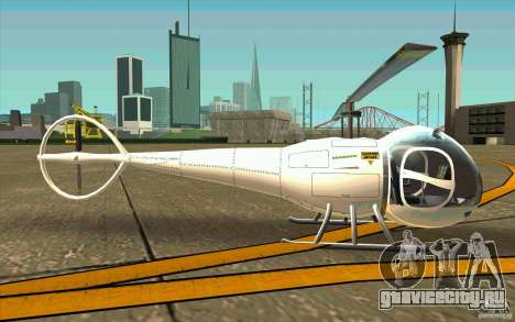 Dragonfly - Land Version для GTA San Andreas вид сзади слева