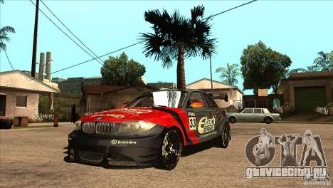 BMW 135i Coupe GP Edition Skin 2 для GTA San Andreas