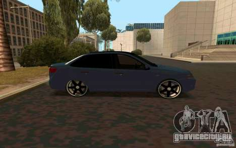 Лада Гранта TUNING для GTA San Andreas вид слева