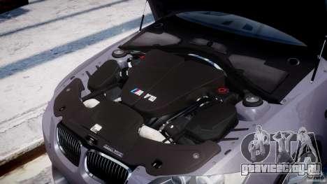 BMW M3 E92 stock для GTA 4 вид сбоку