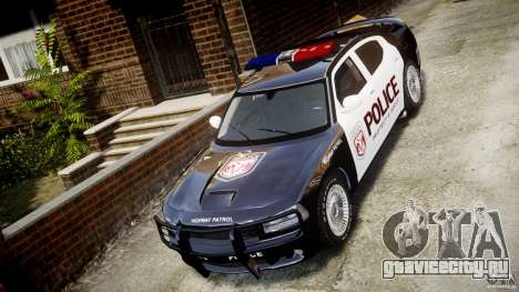 Dodge Charger SRT8 Police Cruiser для GTA 4