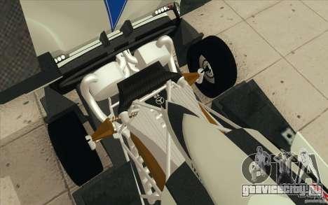 Pagani Zonda Racing Edit для GTA San Andreas вид снизу
