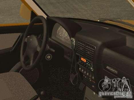 ГАЗ 3110 Такси для GTA San Andreas вид справа