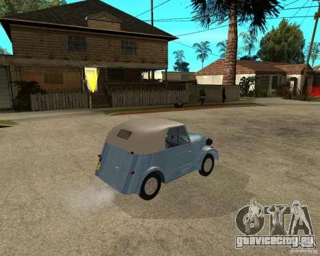 СМЗ С-3А для GTA San Andreas вид сзади слева