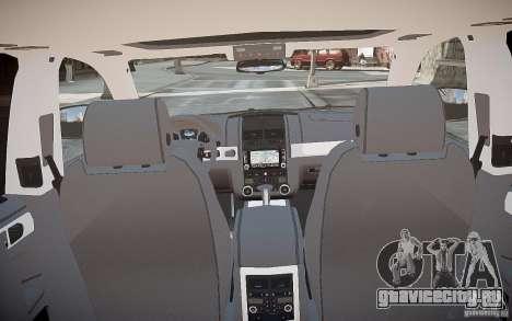 Volkswagen Touareg R50 для GTA 4 вид снизу
