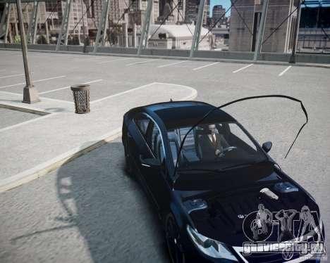 Volkswagen Passat CC для GTA 4 вид сбоку