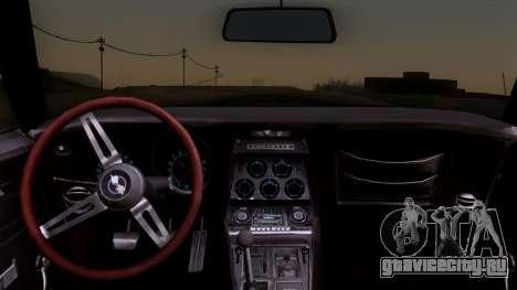 Chevrolet Corvette C3 Stingray T-Top 1969 v1.1 для GTA San Andreas вид справа
