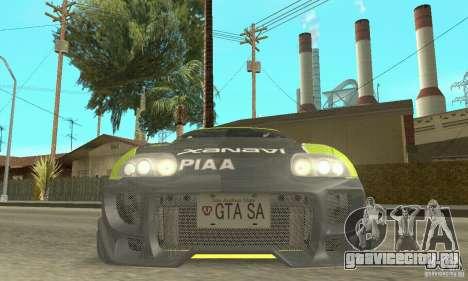 Toyota Supra Tunable 2 для GTA San Andreas колёса