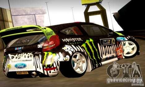 Ford Fiesta Gymkhana 4 для GTA San Andreas салон