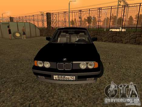 BMW 535i для GTA San Andreas вид справа