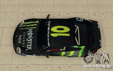 Porsche 997 Rally Edition для GTA San Andreas вид справа