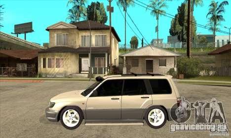 Subaru Forester 1997 года для GTA San Andreas вид слева