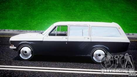 ГАЗ 24-12 1986-1994 Stock Edition v2.2 для GTA 4 вид изнутри
