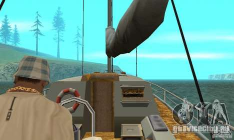 Marquis HD для GTA San Andreas вид сзади