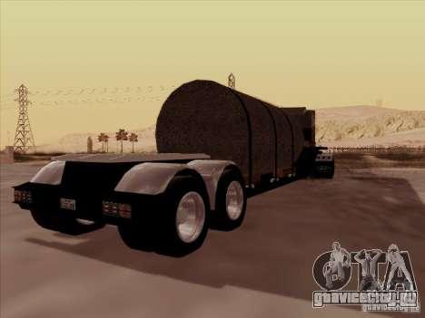 Прицеп к Peterbilt 378 Custom для GTA San Andreas вид сзади