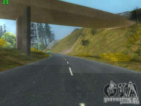 Roads Moscow для GTA San Andreas четвёртый скриншот